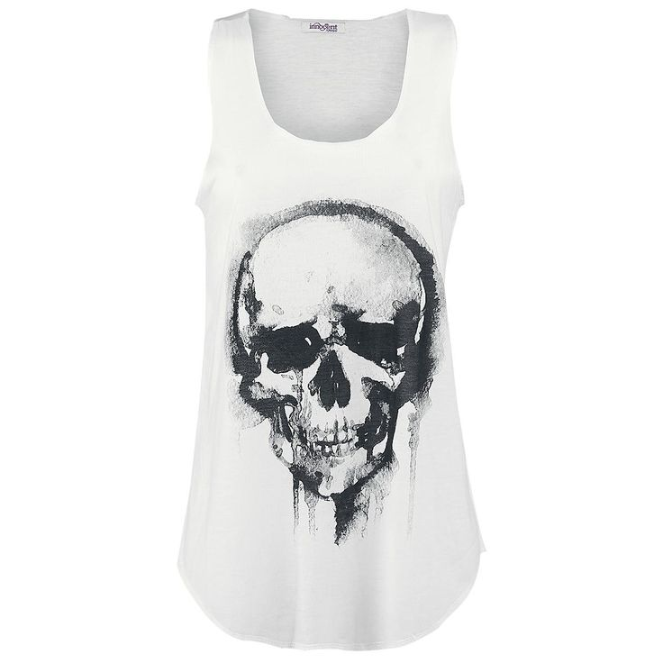 Top Innocent »Skull« | Dispo chez EMP | Plus de Tops RockWear sur notre site en ligne ✓ Prix imbattables !