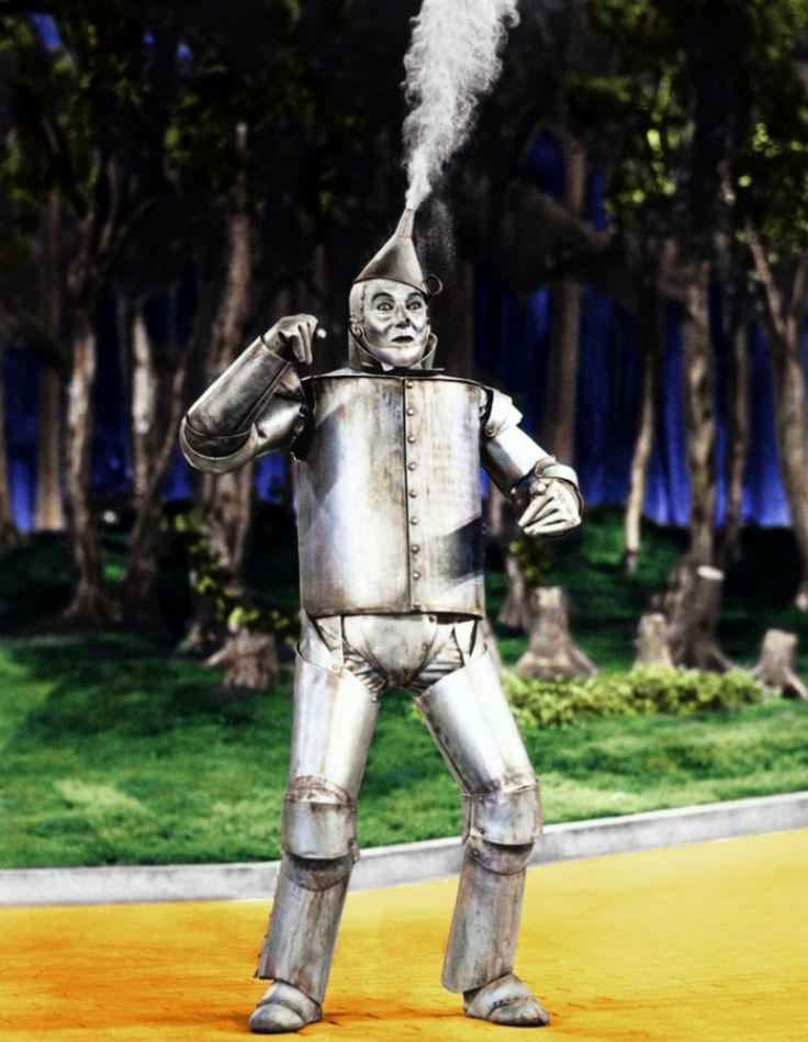 Tin Man! I know it's weird, but I've crushed on the Tin Man since I was itty bitty!  I love him!