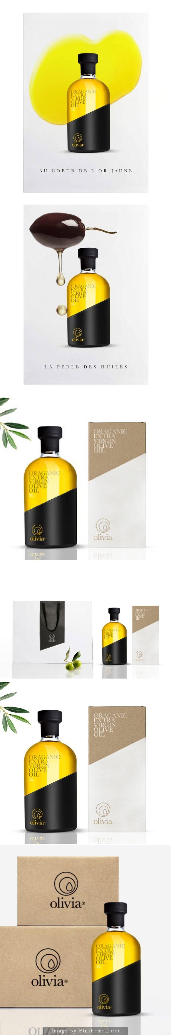 Olivia Organic Extra Virgin Olive Oil Designer: Julian Thebault Country: France