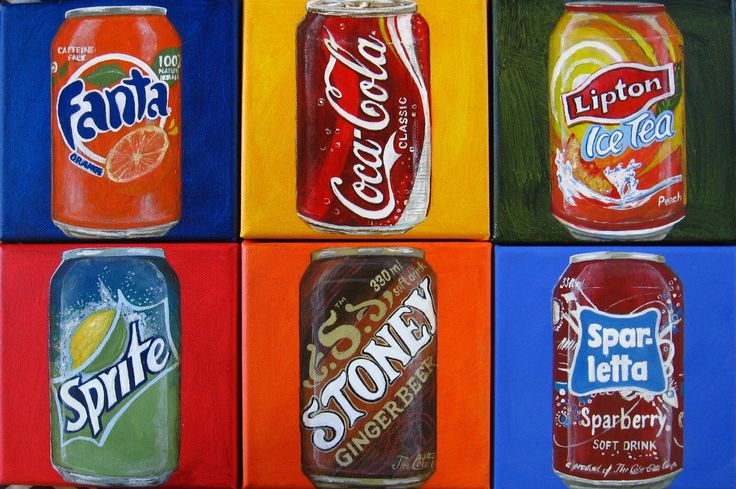 The Softdrink Collection - 2014 - Sonja Peacock Art