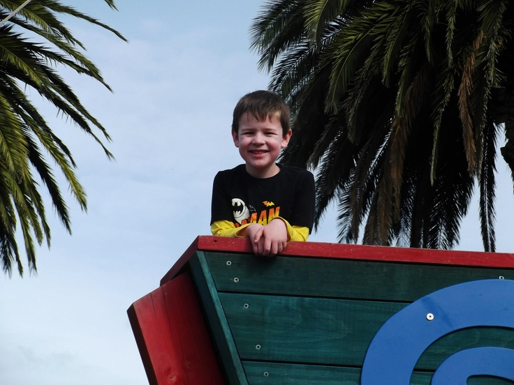 Picton for kids - where else can you get enjoy a great play ground with a pirate ship!