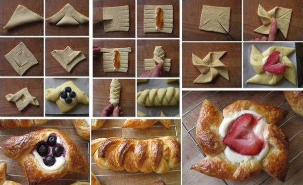 Phyllo dough desserts - image from goodshomedesign.com