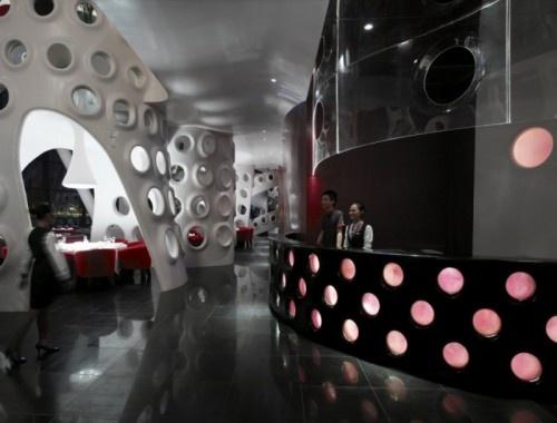 Interesting Honeycomb Restaurant Design5
