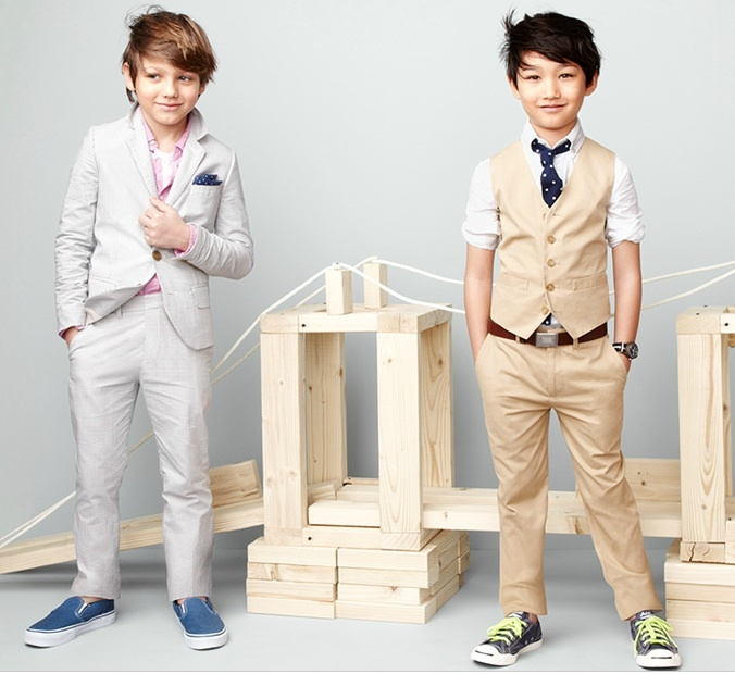 dapper suits for little boys. jcrew