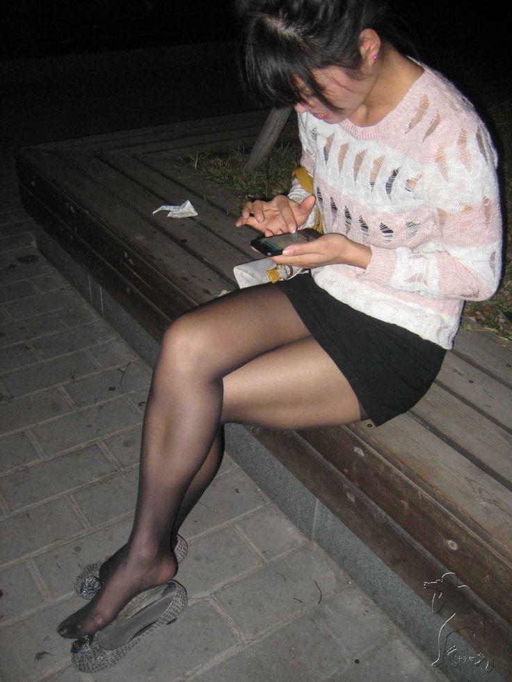 Pantyhose secret models