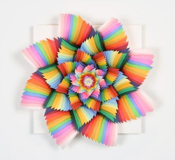 Best Jen Stark Art Images On Pinterest Paper Art Painting - Mesmerising hand crafted paper sculptures jen stark