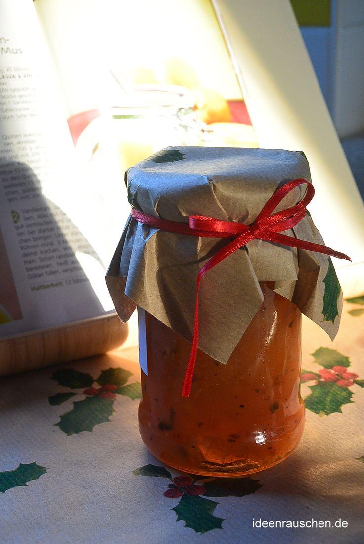 Apfel-Weihnachtstee-Marmelade