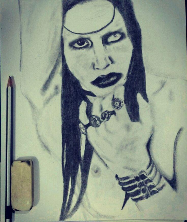 Manson, lapiz 4B