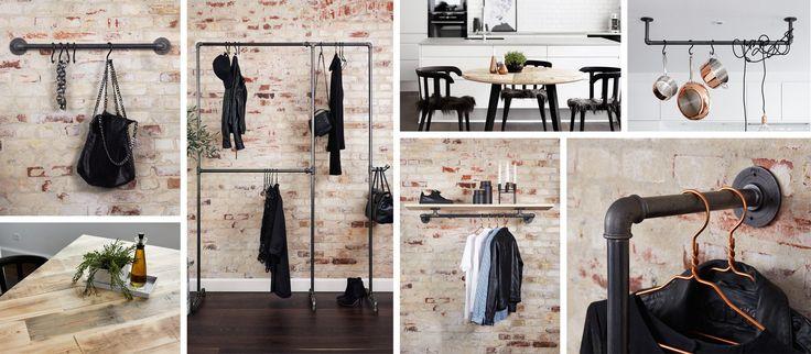 Bei Rackbuddy findest du Kleiderständer und die neusten Trends der modernen Wohnungseinrichtung. Wir spezialisieren uns auf urbanes, industrielles Design.