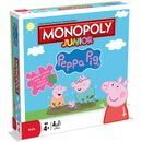 Monopoly Junior - Peppa Pig Edition 25188 Monopoly Peppa Pig Jr - This is the perferct introduction to the world of MONOPOLY! Travel round the Peppa Pig MONOPOLY board visiting Peppa and her friendsas you go! Leave your Wellie Boots with peop http://www.MightGet.com/january-2017-11/monopoly-junior--peppa-pig-edition-25188.asp