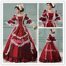Victorian ROCOCO Gown Ball/Classical European Royal Court Party Fancy Dress