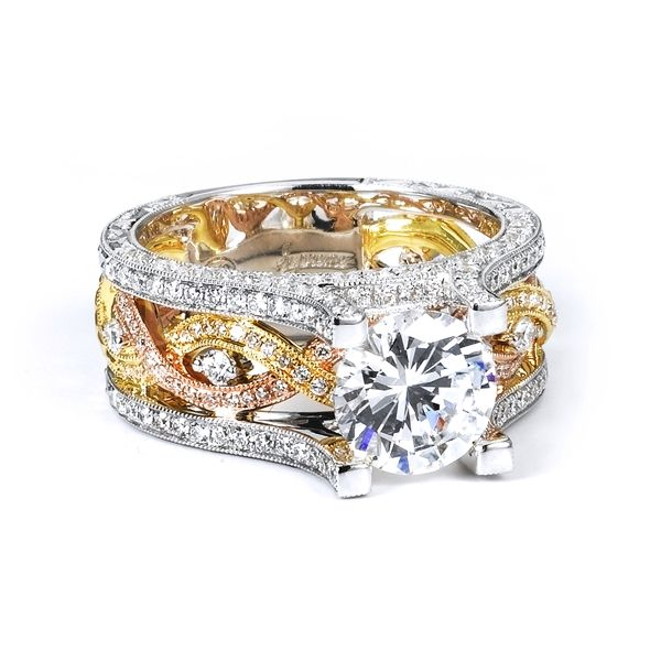 Gold Diamond Engagement Ring Pinterest Rings And Jewelry