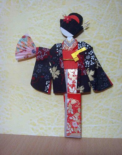 142 best images about Japanese Paper Dolls on Pinterest