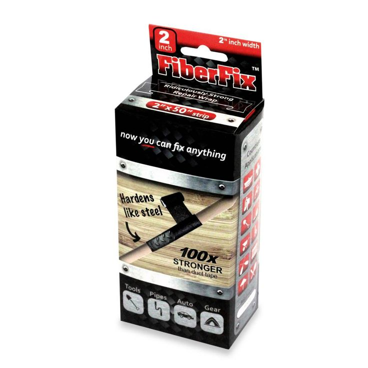 The FiberFix Original Repair Wrap Is Heat And Cold Resistant Between  50  And 300 Degrees