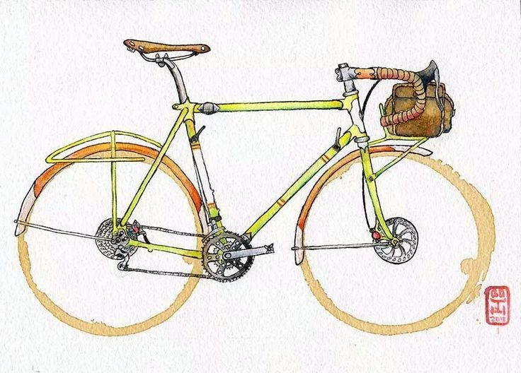 Preferenza 352 best Cartoons images on Pinterest | Cycling art, Bicycle art  ZY71