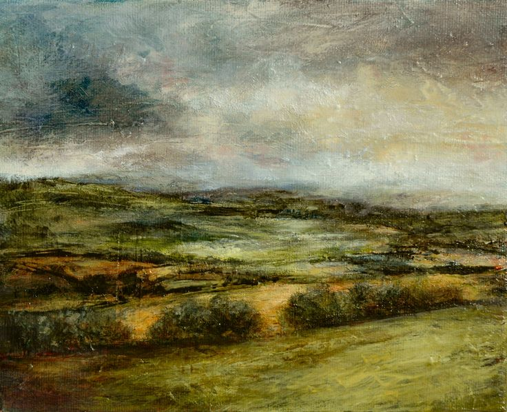 Oil Paintings Landscapes And English On Pinterest