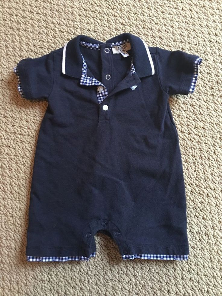 #armani #baby polo onesie 3 month authentic sale from $40.0