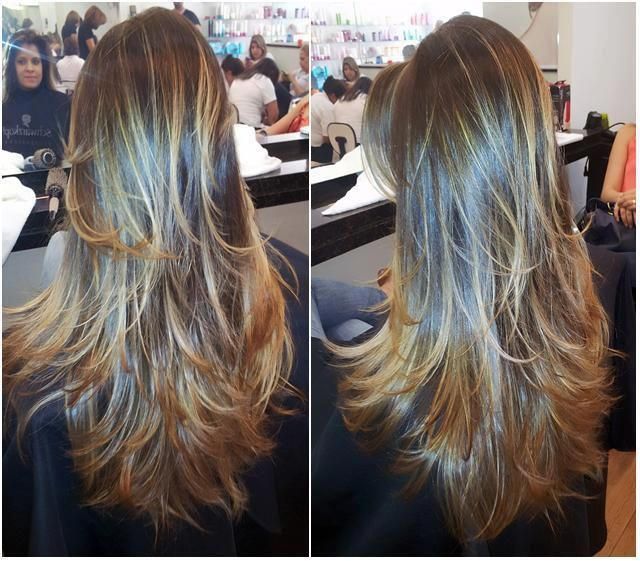 mechas 3D: Hair Ideas, Hair Colors, Hairs, Long Hair, Beautiful, Longhair, Hair Style, Cabelos, Highlights