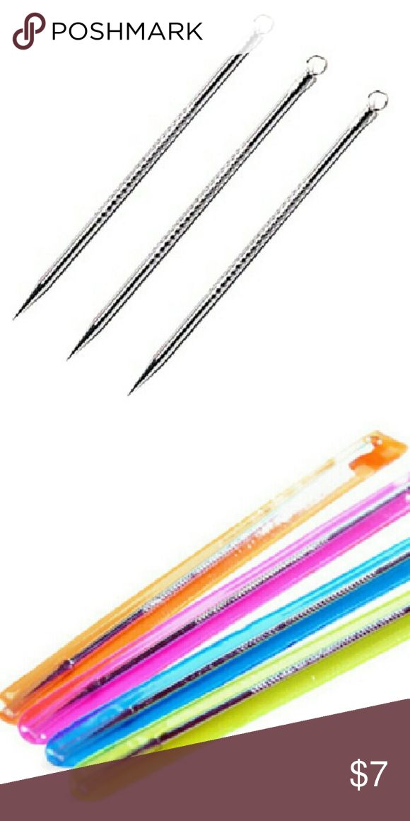 Extractor Needles Remove Acne Pimple tool Pimples Comedone Acne Needle Tool Extractor Remover Remove Tool  Package including 1 x Blackhead/Pimples Needle NO Retail Box. Packed Safely in Bubble Bag. Makeup Brushes & Tools