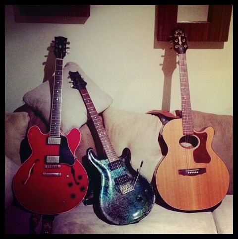 Guitarras de Gustavo Cerati
