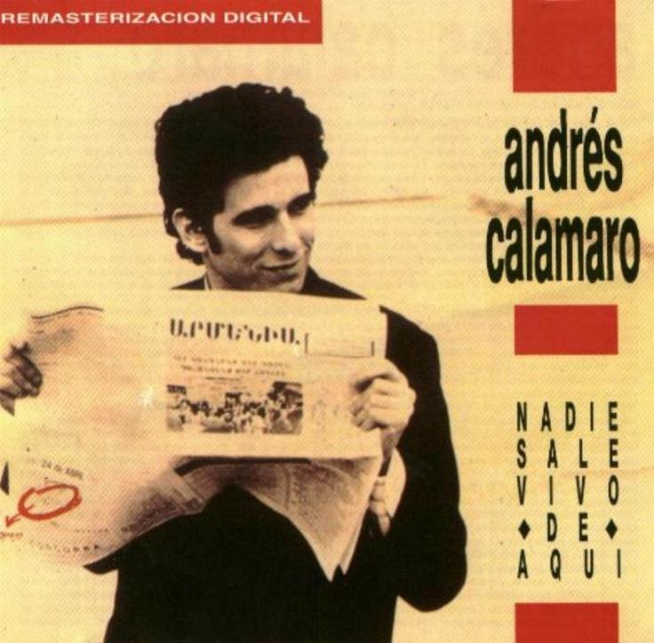 Andres Calamaro - Nadie Sale Vivo De Aquí  (1989)