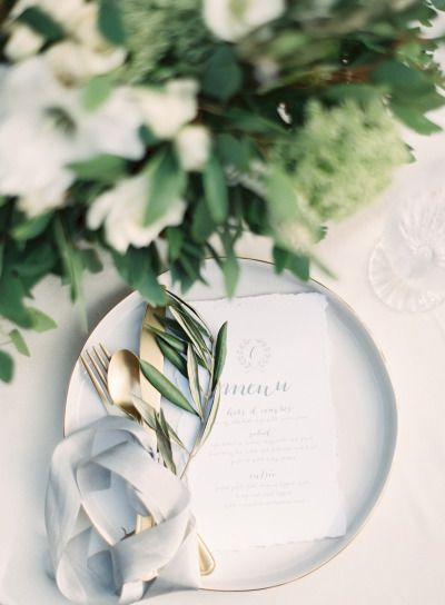 Gray and gold: http://www.stylemepretty.com/little-black-book-blog/2015/03/27/neutral-la-rio-mansion-wedding-inspiration/ | Photography: Mint - http://mymintphotography.com/