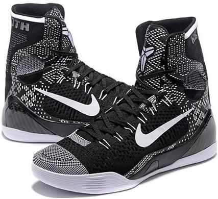 Nike Kobe 9 Mens Basketball Shoes Black person-months4