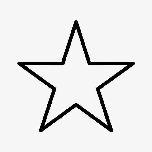 Star Line Black Icon Star Clipart Star Icons Line Icons Png And Vector With Transparent Background For Free Download Light Icon Star Clipart Location Icon