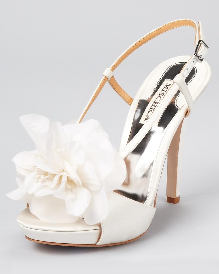 Badgley Mischka Sandals, simply perfect.