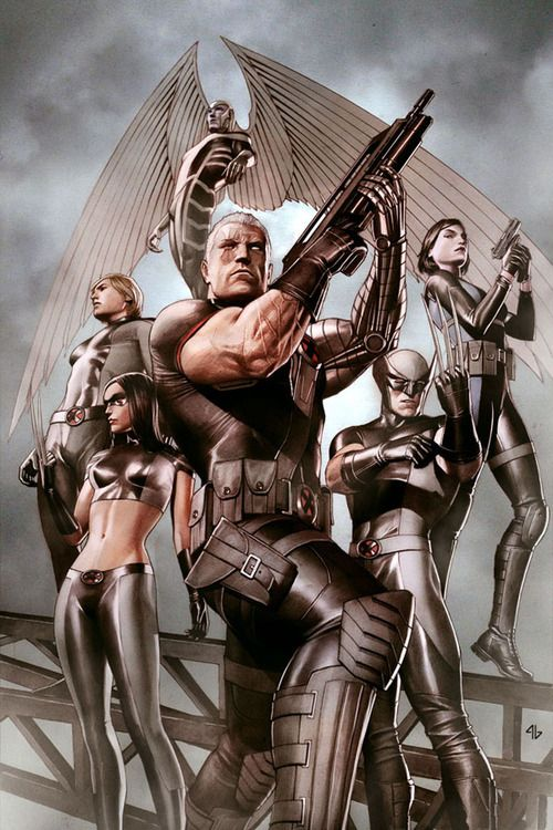 Cable + X-Force - Adi Granov