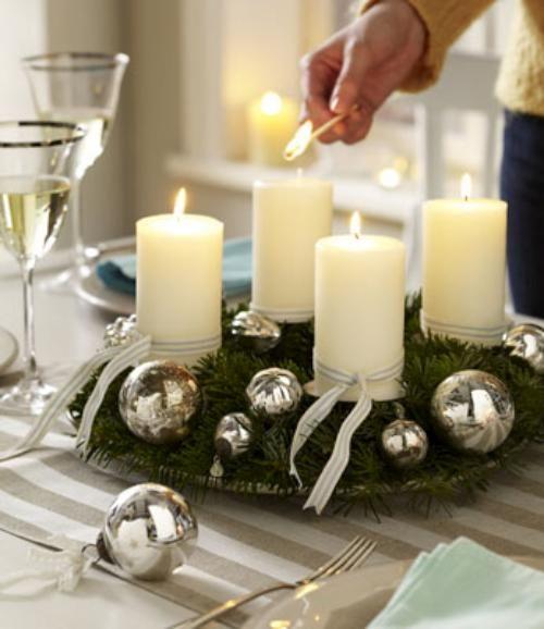 ideas y trucos para decorar la casa bricolaje : Tips Decoración Navidad   Cómo Hacer un Centro de Mesa