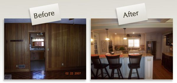 Raised ranch remodel before after times are tough why for Kitchen remodel ideas raised ranch