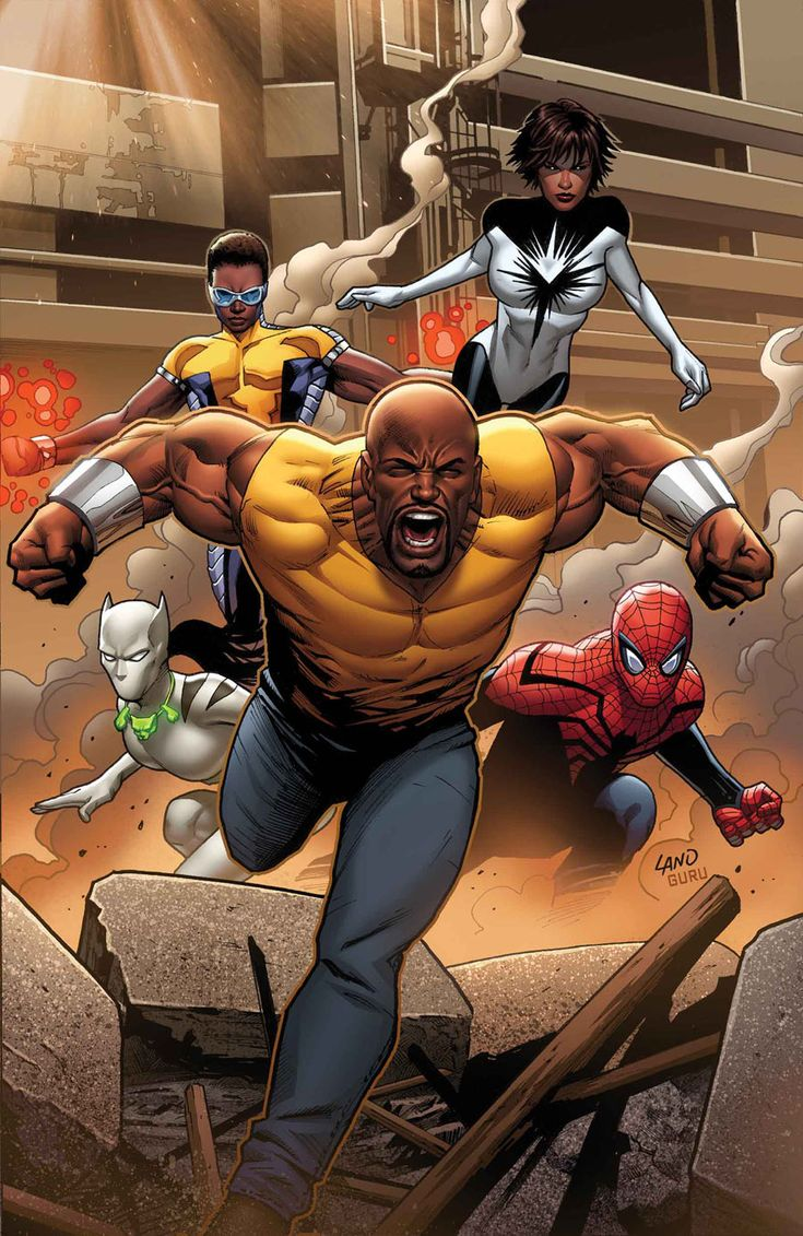 Luke Cage leads the Mighty Avengers
