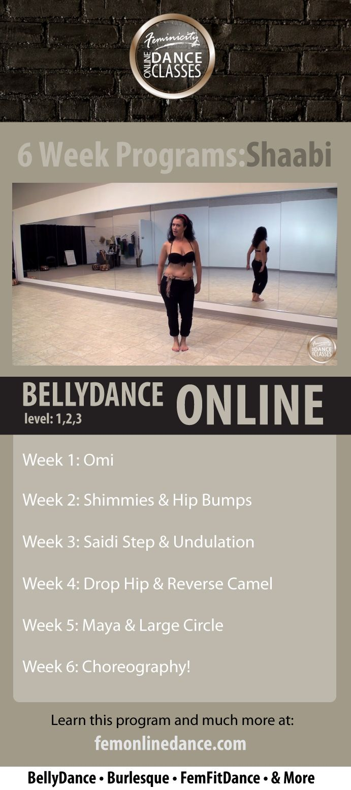 Belly Dance Online: Shaabi Program (Beginner, Intermediate ...