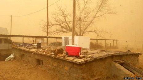 Las Impresionantes Tormentas De Polvo Que Pueden Arrasar Oklahoma
