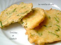 Tortillitas de calabacin