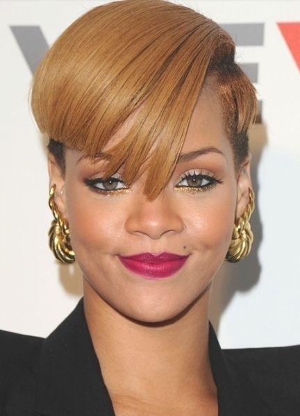 Classic Rihanna Haircut Styles