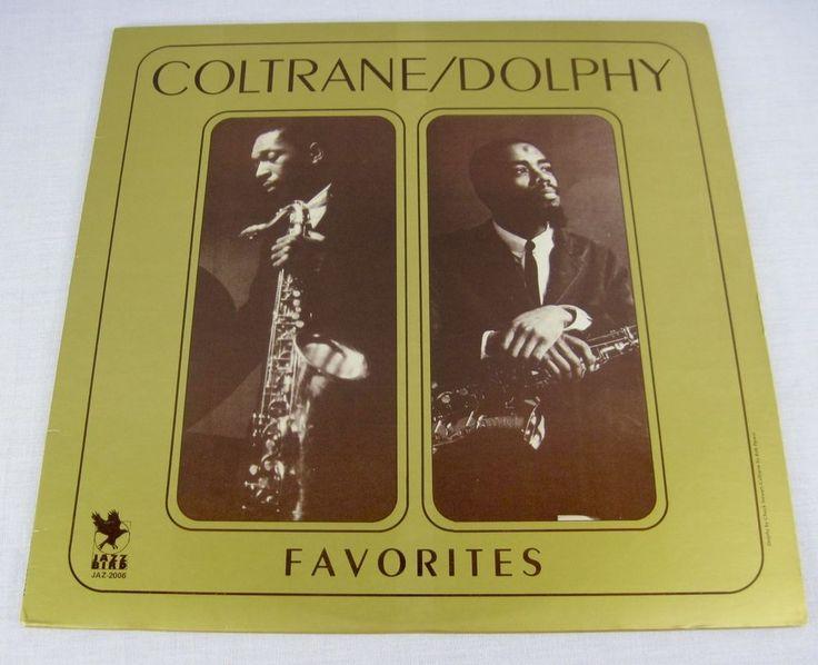 Coltrane Dolphy Favorites 1980 Audiophile Vinyl LP Album Hard Bop Jazz Music #1980sJazzFunkFusionJazzInstrumentJazzPop