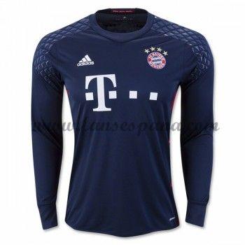 Camisetas De Futbol Bayern Munich Portero Primera Equipación Manga Larga 2016-17
