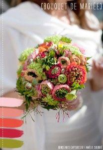 #wedding bouquet #bouquet de mariee #La mariee aux pieds nus ©Instants capturés