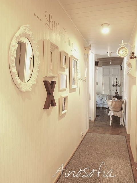 17 Best Images About Hallway Photo Wall On Pinterest