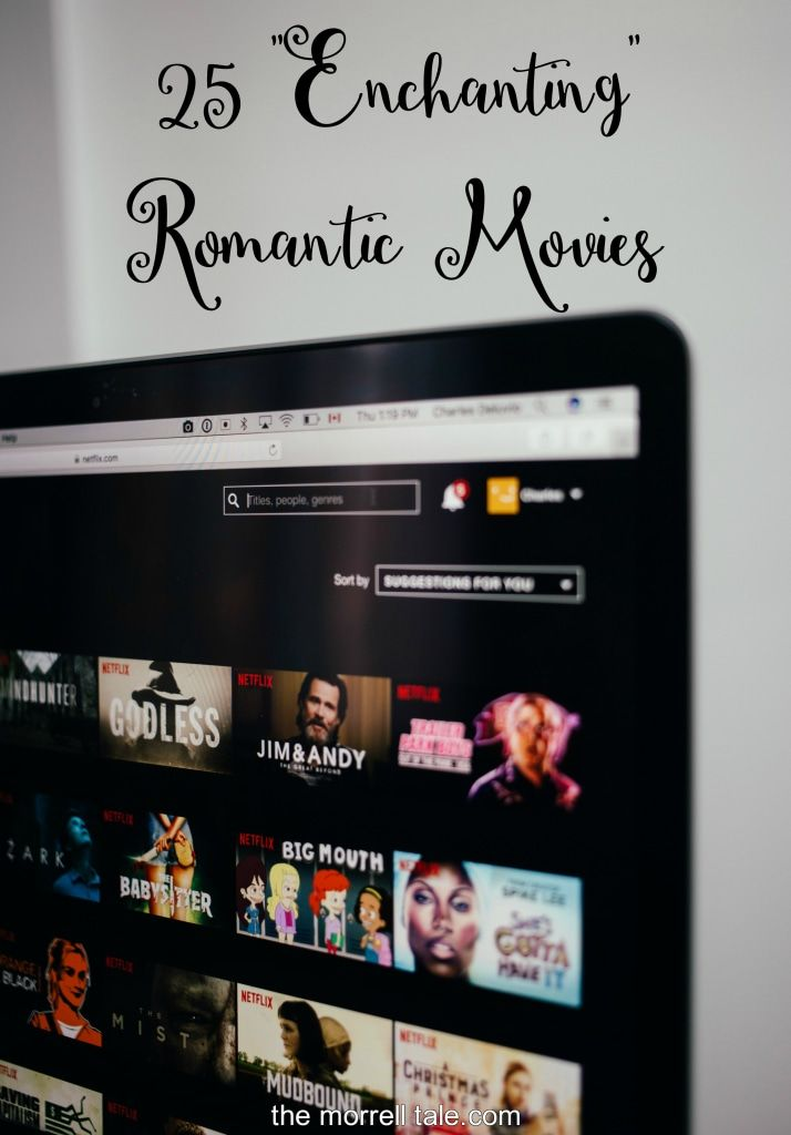 "A list of 25 of the best romantic movies that happen to be fantasy or sci-fi.  25 ""Enchanting"" Romantic Movies to Watch 