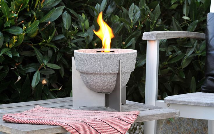 Schmelzfeuer Outdoor L Granicium® mit Deckel | DENK Keramik 140€