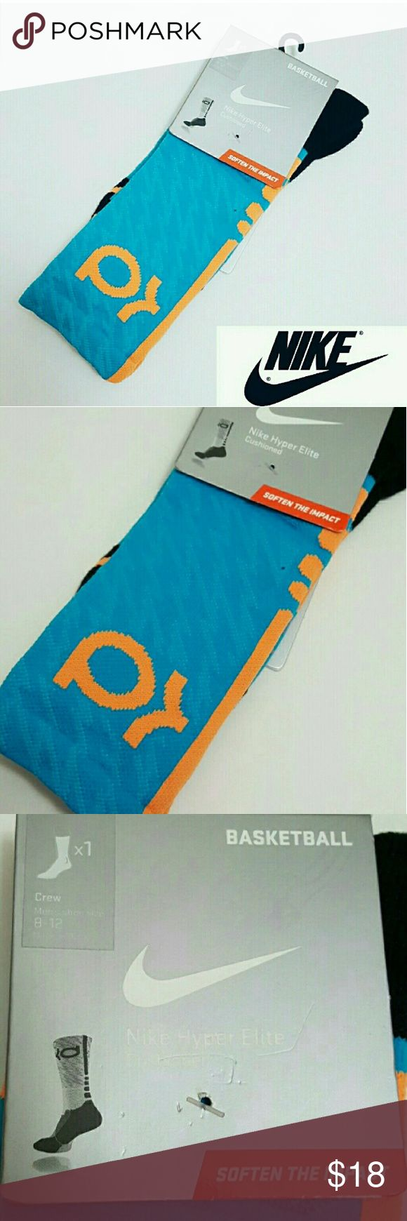 New! Nike KD basketball mens socks New with tags! Nike men's KD socks, fits men's shoe size 8-12.  Offers welcome. Nike Accessories