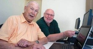 Can Old Dogs Learn New Tricks? My 98 year old Grandfather proves that you are never too old to learn new skills. Oldest computer literacy student