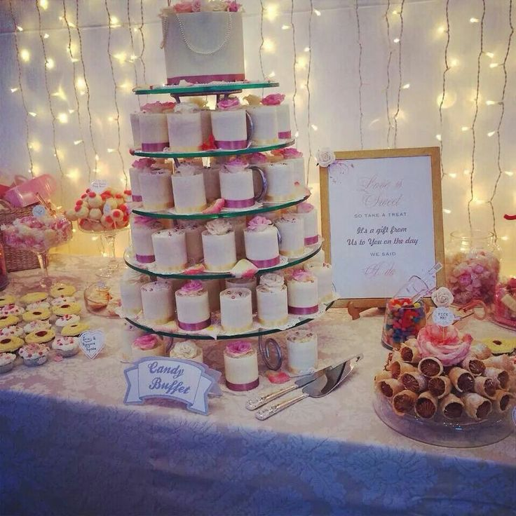 Our Wedding dessert Table :)