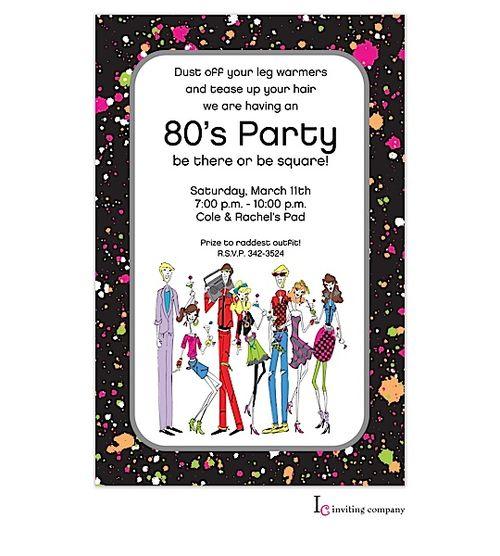 The 52 best partyinvitations sweet sixteen 16 birthday party sweet sixteen 16 party invitation 80s retro people stopboris Images