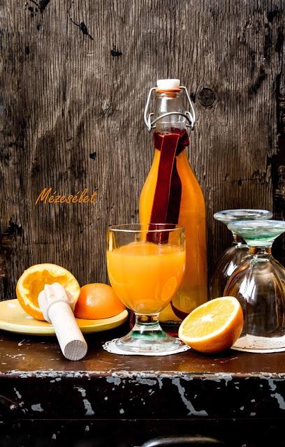 Mézesélet: Narancsos-sütőtökös ital