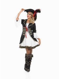 Buccaneer Girl Pirate Plus Size Costume (3344)
