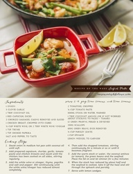 Lorna Jane healthy paella recipe.